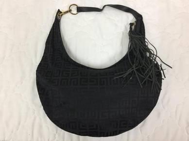 Auth GIVENCHY Monogram Shoulder Hobo Bag