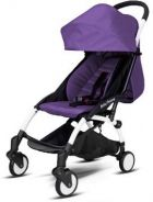 PURPLE UPGRADED Baby Throne Stroller
