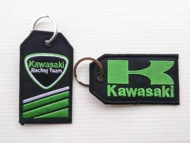 Keychain Kawasaki Kain Sulam