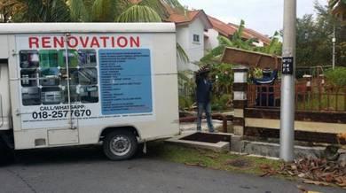 Khidmat binaan dan renovation rumah pejabat