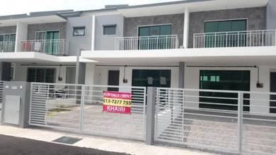 2 storey intermediate, saujana klia, sepang i new house kota warisan