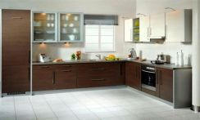 Kitchen cabinet astoria ampang melamine promo 3999