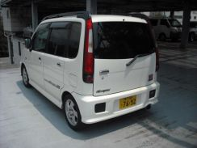 Daihatsu move aerodown rack lamp