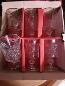 Set gelas