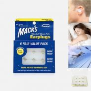 Mack's Pillow Soft Silicone Putty Earplugs, 6 Pair