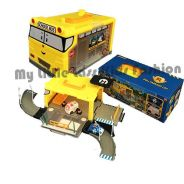 Robocar Poli School Bus Paking Base Carry Case Toy