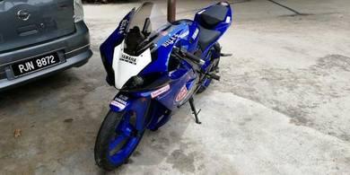 Yamaha Tzm150 convert R1