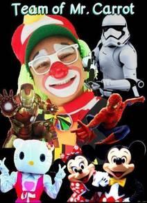 Perkhidmatan Badut/CosplaY/clown