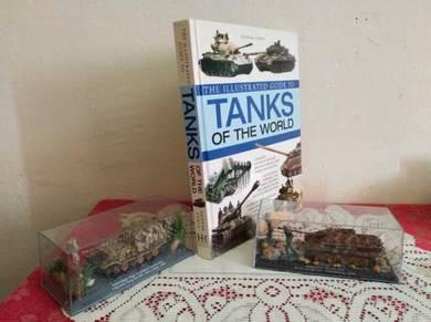 Buku tank of world dan model tank