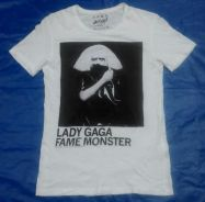 Lady Gaga by Zara tshirt for women
