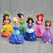Q Series 6 Princess PVC Figure Cake Topper 10cm