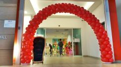 615) Arch Balloon Entrance