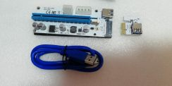 PCIE Riser 1x to 16x Card (Latest Version)