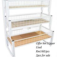 Offer bin 3 layer