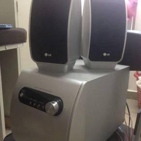 LG speaker system 2 in 1