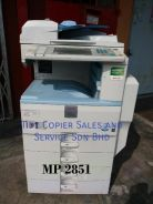 Lower market price mp2851 machine b/w copier