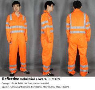 Reflective Industrial Coverall