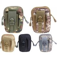 Tactical Molle Pouch Belt Waist Pack Bag Small Poc