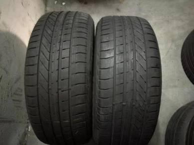 Used 225/55/17 goodyear run flat tyre tayar tire