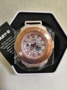 Rose Gold Baby G Watch