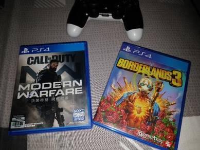 Modern Warfare and Borderlands 3 (PS4)