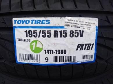 195/55/15 Toyo Proxes TR1 Tyre Tayar