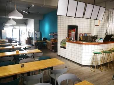 Restaurant for takeover in asia city kota kinabalu