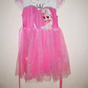 Gown Pink Frozen