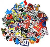 100 Pcs Sticker Bomb Graffiti Vinyl For Car Skate