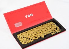 YBN Gold Golden Chains 10S 11S for MTB / RB