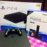 Ps4 slim 500gb jet black