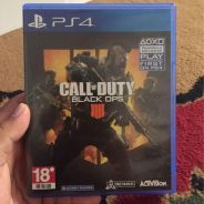 Call of duty black ops 4 and resident evil 6