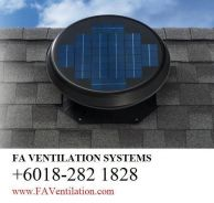 19ATGN FA Solar Powered Roof Ventilator GERMANY