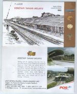 Mint Stamp Booklet KTM P000000 Malaysia 2010