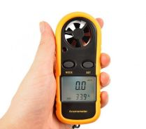 Digital Wind-Speed Angin Anemometer Thermometer