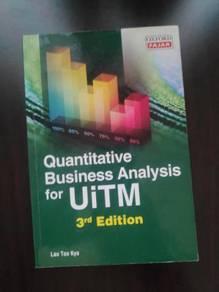 Quantitative Business Analysis for UiTM