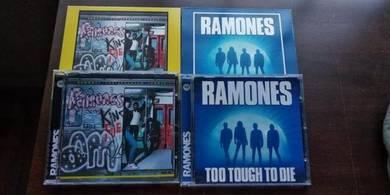RAMONES Too Tough To Die & Subterranean Jungle CD