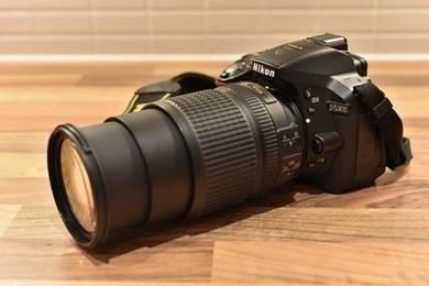 Nikon D5300 with 18-140 lense
