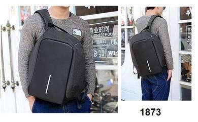 Backpack USB Laptop Travel Bag 1873