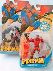Marvel Hasbro Venom & Carnage Figure Toys