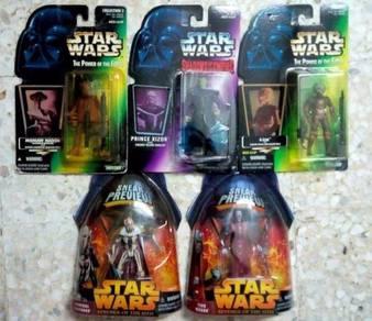 LOT C30B. Star Wars Various 3.75