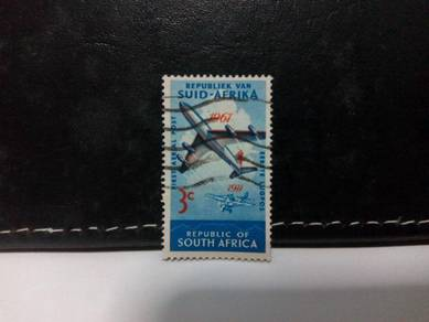 1961 South Africa Stamp, Aircrafts, Air Mail
