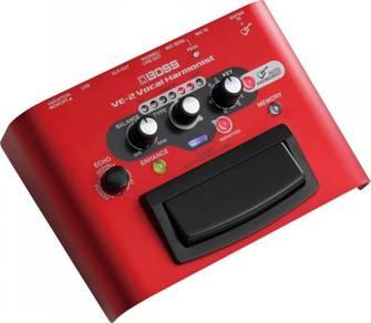Boss ve2 / ve-2 Voice Processor (FREE Cables)