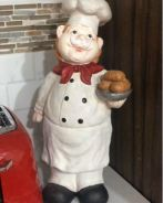 Large Chef Figurine
