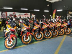 Honda rs150 v2 offer Now