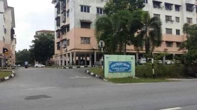 [ RM1K Booking ] Tingkat 2 l 3R2B | Freehold Apartment Melor, Kajang