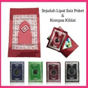 Prayer Mat With Compass - Sejadah Pocket (41)