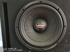 Woofer and monoblock amp