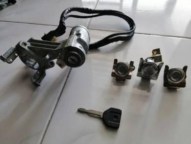 Iswara key lock starts aeroback
