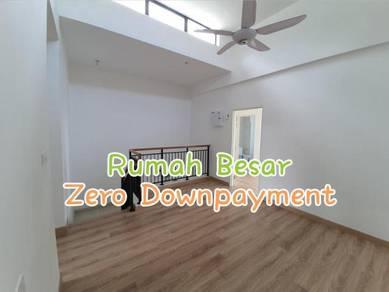 0 Downpayment FREE Legal Fee Landed 2 Storey Bukit Indah Larkin Tampoi